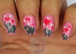 365 days of nail art day 291 nail art elephants