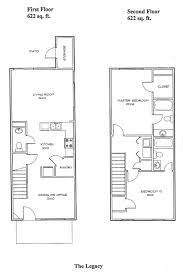 Townhome Floor Plan by The Legacy In Governors Crossing Townhomes In Clarksville Tn
