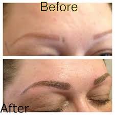 semi permanent makeup 3d eyebrow cali u0027s beauty clinic cork