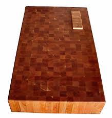 custom wood countertop options knife storage