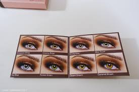 blushing introvert desio contact lenses review desert dream