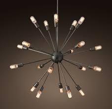 sputnik chandelier an iconic design for more than 50 years sputnik filament chandelier 40 m d kitchen design inspiration