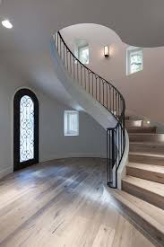 Winding Staircase Design Iron And Wood Staircase Design Ideas