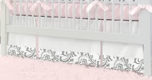 Elephant Nursery Bedding Sets by Pink And Gray Elephants 3 Piece Crib Bedding Set Carousel Designs