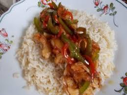 cuisiner le riz basmati mes crevettes à la chinoises riz basmati poivron vert et