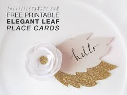 7 best images of printable placecards templates free wedding