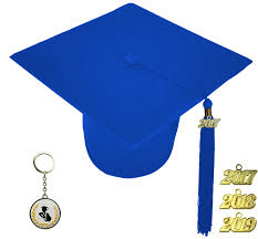 blue graduation cap matte royal blue graduation cap elementary school rs4251465608669
