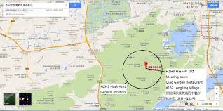 Hash Map Hangzhou Hash House Harriers 2016 December
