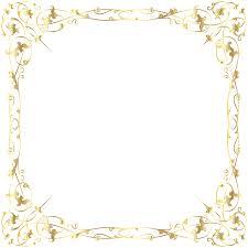 Decorative Frame Png Gold Transparent Christmas Photo Frame Gallery
