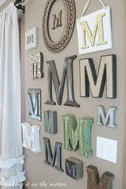 Living Room Wall Decoration 25 Best Monogram Wall Decorations Ideas On Pinterest Burlap