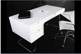 White High Gloss Office Desk White High Gloss Office Desk Digihome For Executive Computer