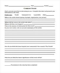 post event report template 16 event report template free sle exle format downlaod