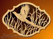 thanksgiving scroll saw patterns pheasant plaque scroll saw