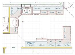 kitchen floor plans with island kitchen floor plans gostarry