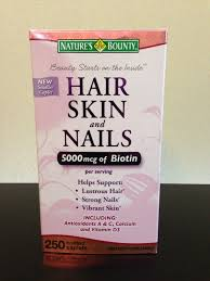 biotin hair skin nails vitamins review