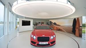 bentley showroom 9 retailers that are reaping the benefits of great lighting lux