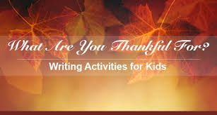 gratitude journal prompts and writing worksheets for thanksgiving