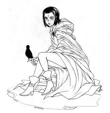teen titans raven ah mon anime art ravens