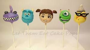 monsters inc cake pops cake by steph wood cakesdecor