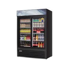 glass slide doors emgr48b refrigerated merchandiser 2 section 48 cu ft 2