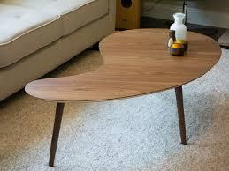 Ikea Coffee Table Legs by Kidney Shaped Coffee Table Cool Modern Coffee Table On Coffee