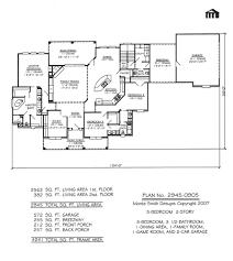 House Plans With Bonus Rooms Bedroom Bathroom House Plans Bath With Bonus Room Bed Floor 4