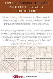 types of parquet flooring patterns to create a per by