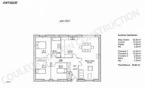 plan maison 120m2 4 chambres chambre plan maison 120m2 4 chambres luxury plan maison 110m2 4