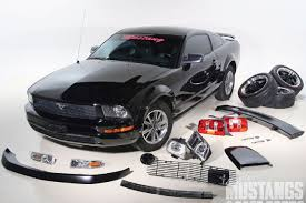 2005 ford mustang performance parts 2005 ford mustang v6 exterior accessories mustangs fast