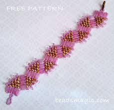 free bead bracelet patterns images 558 best free beading patterns images bead jewelry jpg