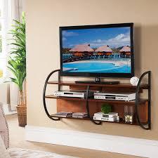 cabinet modern black oak floating tv stand for inspiring modern