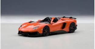 lamborghini aventador j autoart 54652 lamborghini aventador j orange 1 43