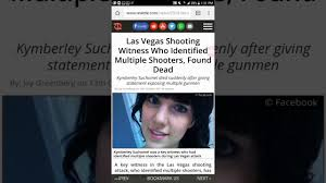 key witness to las vegas shooting found dead multiple shooters