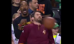 Kevin Love Meme - the internet mocked kevin love getting hit in the face with a