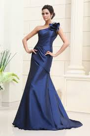 buy cheap royal blue one shoulder a line bridesmaid dress with