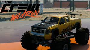 monster jam truck specs the crew wild run monster truck chevrolet silverado youtube