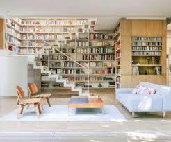 home interior book bookshelf as room focus in interior design