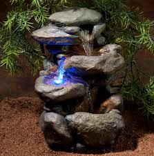 zoo med repti rapids small rock led waterfall for reptile terrariums