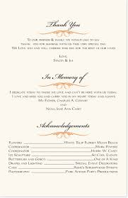 in memory of wedding program butterfly wishes monarch butterfly wedding program and church