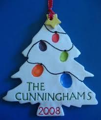 how to make salt dough tree fingerprint ornaments mix 1