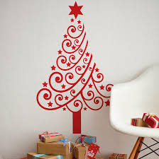 Home Wall Decor by Christmas Wall Decorations Jumply Co