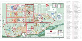 Northeastern Campus Map Miami University Oxford Campus Map Diagrams Free Printable