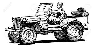 cartoon jeep wrangler photo collection off road jeep drawing