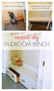 Mud Bench Framing Up A Mudroom Bench In A Nook Ana White Woodworking Projects