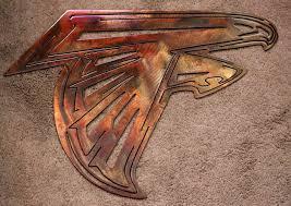 atlanta falcons metal wall art sports u0026 teams