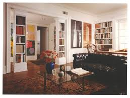 book columns traditional living room chicago by stuart