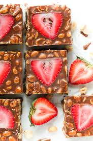 297 best cook halloween food images on pinterest halloween low carb no bake chocolate strawberry bars primavera kitchen