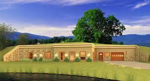 berm homes plans uncategorized earth sheltered house plan exceptional within