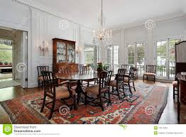dining room in traditional home stock image image 13274491