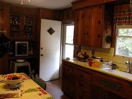 Knotty Pine Kitchen Cabinets Office Interior Design House Interior Design Ideas